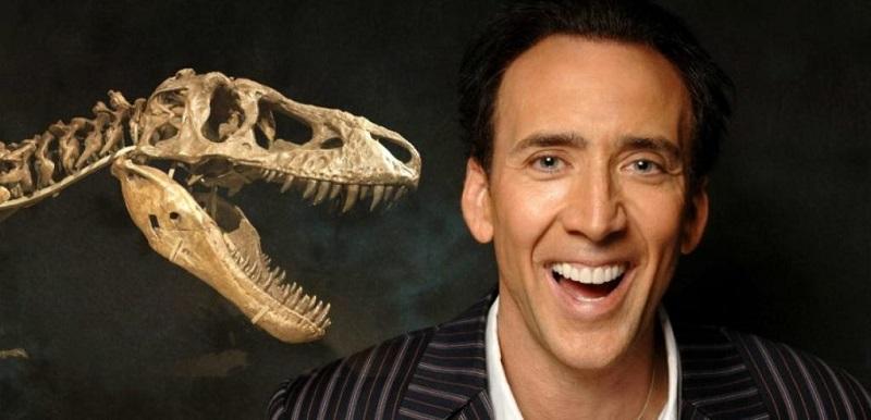 Николас Кейдж (краденый череп динозавра)