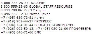 Работа в Москве на 2015 - 2016 разнорабочими
