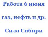 Только свежие вакансии от Силы Сибири на 6 июня вахтой для всех желающих