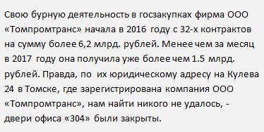 Новая информация ООО «Томпромтранс» вакансии 2017 февраль