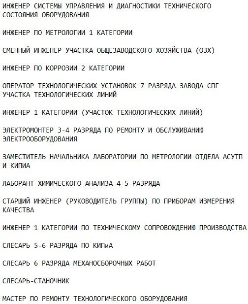 субподрядчики на строительство Сабетта и Сила Сибири-2 должности